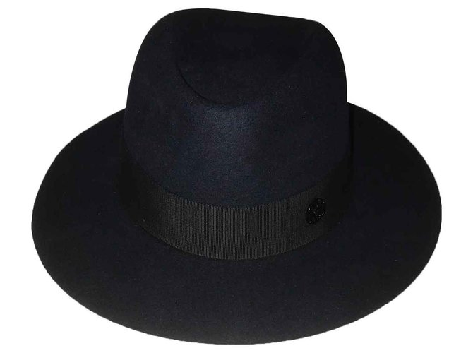Maison Michel Andrew Hats Other Navy blue ref.121949