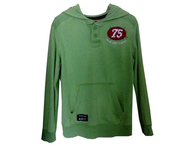 Zara Sweaters Sweaters Cotton Light green ref.122113