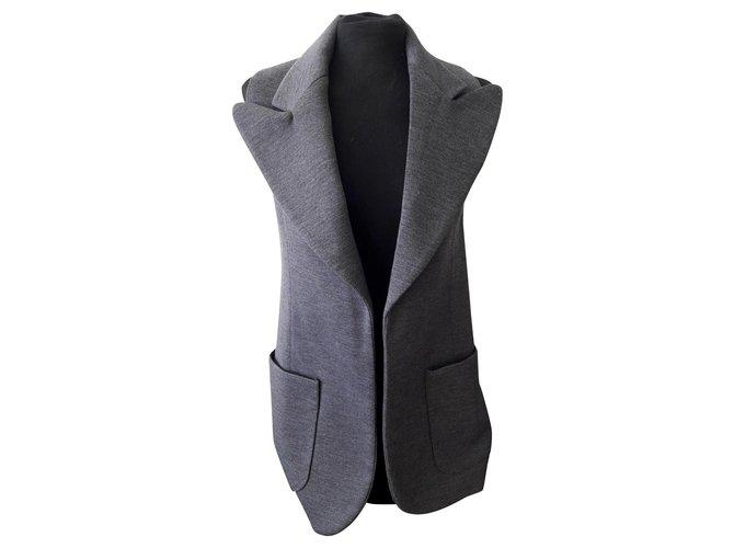Chloé Jackets Jackets Wool Grey ref.122410