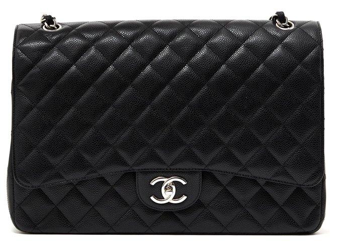 Sacs à main Chanel Sacs à main Cuir Noir ref.122455
