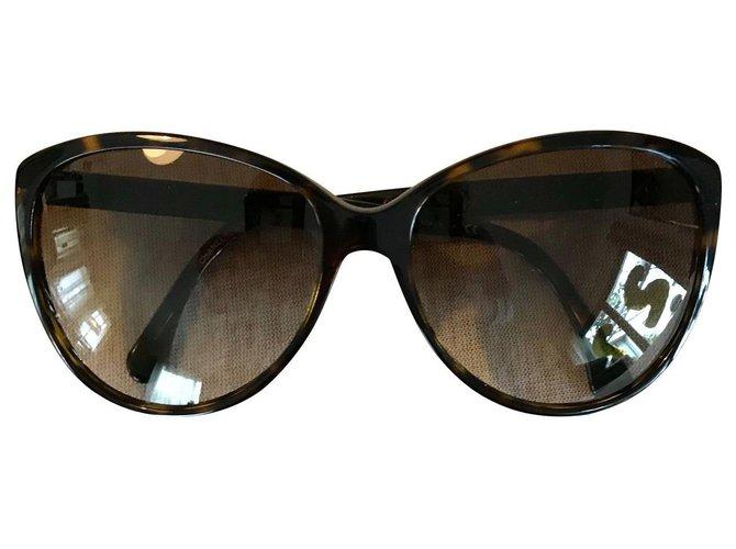 Chanel Sunglasses Sunglasses Acetate Dark brown ref.122991