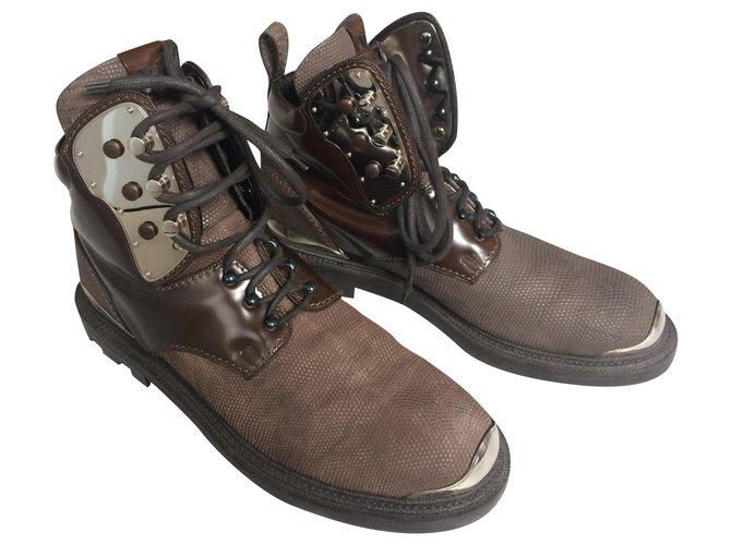 Louis Vuitton Men's boots Boots Leather