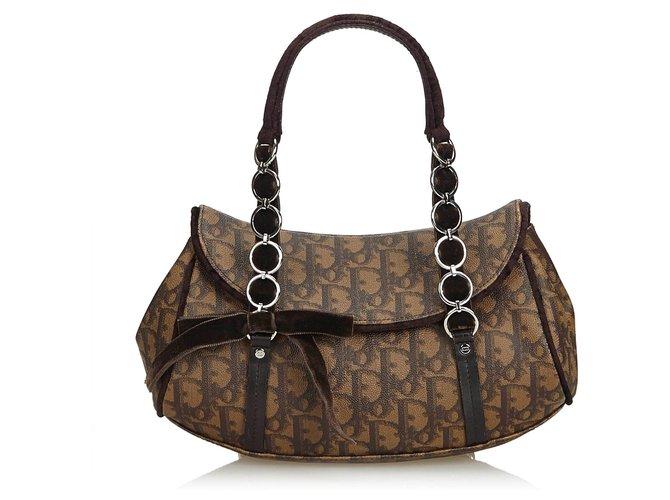 Brown Sac À Oblique Dior Romantique Main dBCxerEQWo