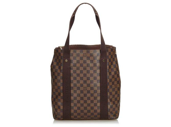 f87f24f4b532 Louis Vuitton Louis Vuitton Brown Damier Cabas Beaubourg Tote Bag Totes  Cloth Brown ref.123309