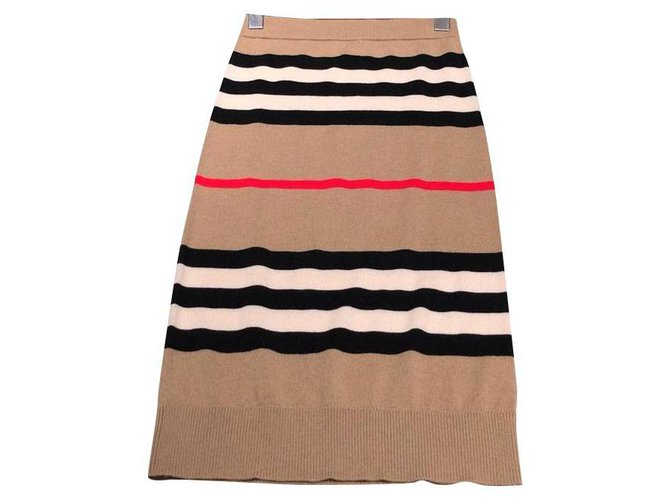 Burberry Burberry Knit Skirt XS Skirts Wool Other ref.123466