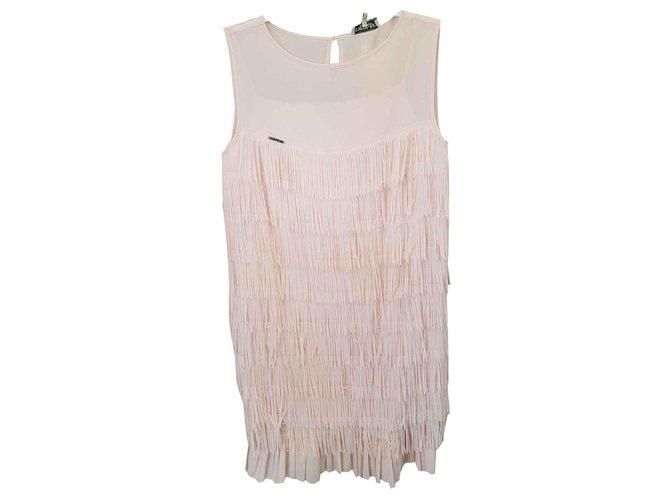 Twin Set Dresses Dresses Polyester Pink ref.123528