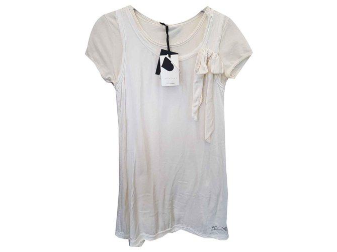 Twin Set Dresses Dresses Viscose Cream ref.123540