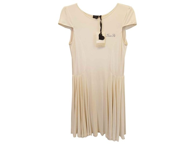 Twin Set Dresses Dresses Viscose Cream ref.123542