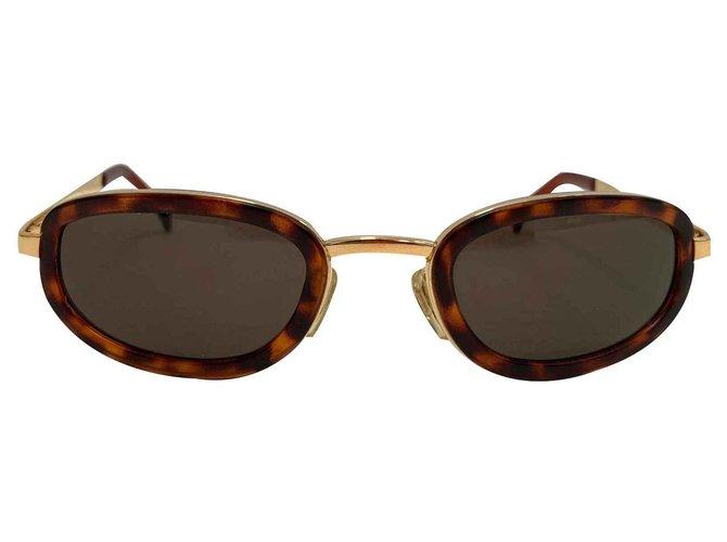 c0b9feba4fd1 Emporio Armani Sunglasses Sunglasses Metal Golden ref.123577 - Joli ...