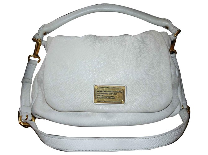 9bdb5a72fd Marc by Marc Jacobs Marc by Marc Jacobs Classic Q Lil Ukita bag Handbags  Leather White