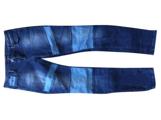 Autre Marque Pants Pants Cotton Blue ref.124326