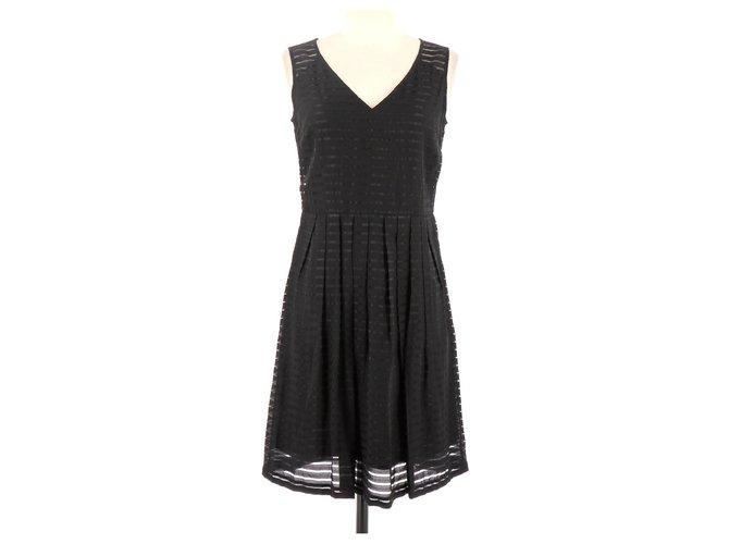 Caroll Robe Dresses Viscose Black Ref 124446 Joli Closet