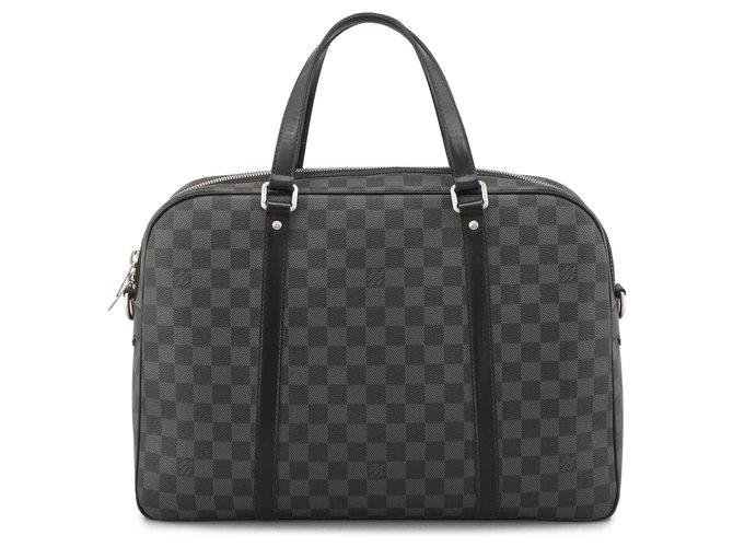 Louis Vuitton Louis Vuitton Black Damier Graphite Jorn Misc Leather,Other,Cloth Black,Grey ref.124567