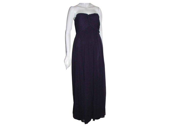 b7c74d17accb Marchesa Marchesa Notte silk gala dress Dresses Silk Purple ref.124584