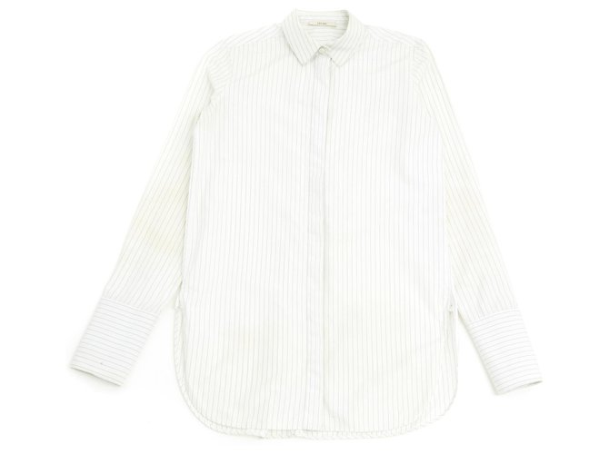Céline TENNIS FR38 Phoebe Philo Tops Cotton White ref.124615