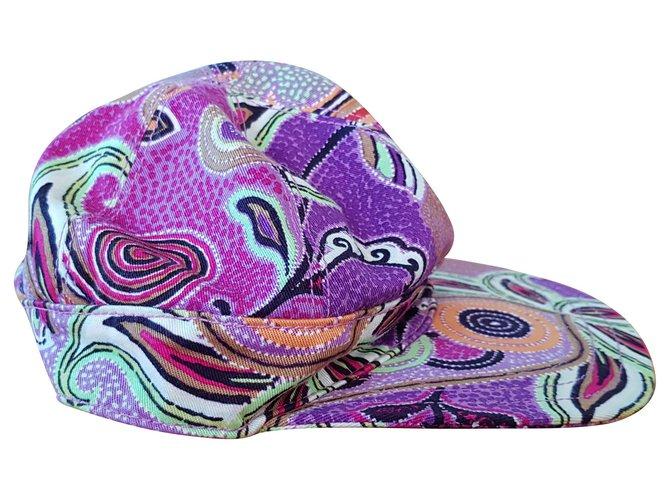 Etro Etro baseball hat Misc Cotton Purple ref.124997