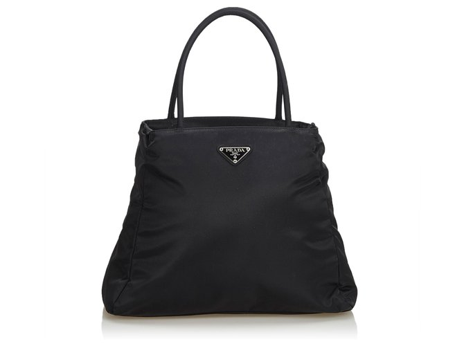 8019f87f7876 Prada Prada Black Nylon Tote Bag Totes Nylon,Cloth Black ref.125097 ...