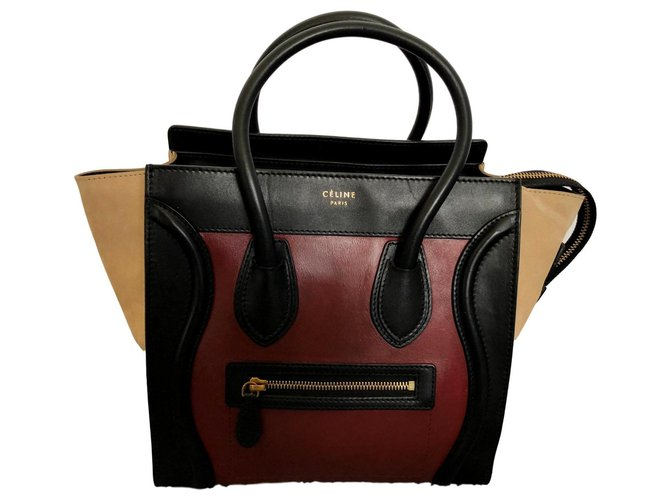 Céline luggage Handbags Leather Multiple colors ref.125348