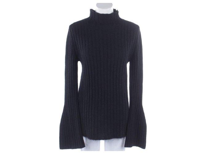 Céline Knitwear Knitwear Silk,Mohair Black ref.125510