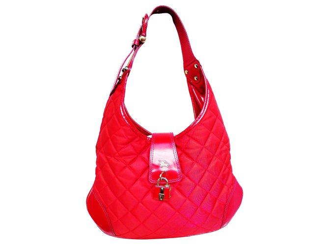 Burberry Handbags Handbags Other Red ref.125617