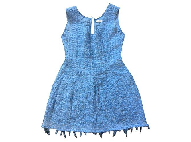 Céline Dress Dresses Other Blue ref.125876