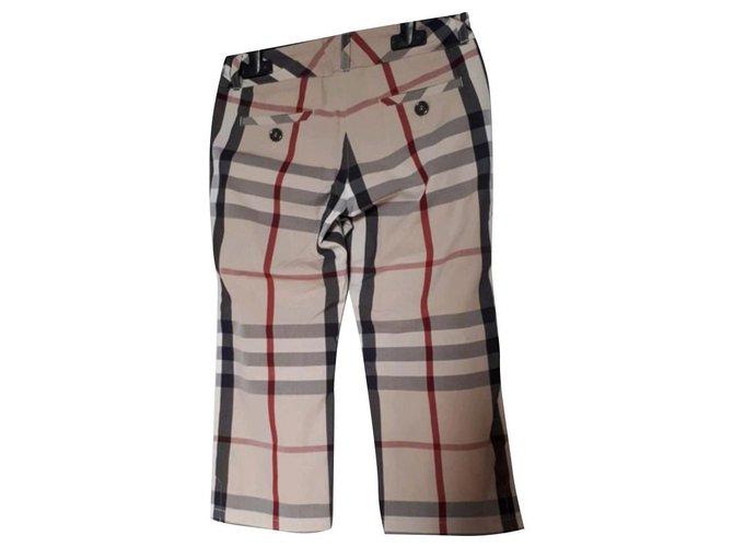 Burberry Pants Pants Cotton Beige ref.125926