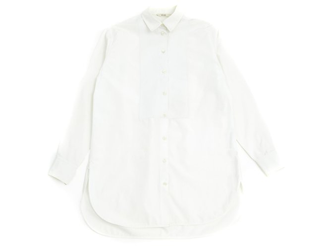 Céline white perfect FR38 Tops Cotton White ref.125950