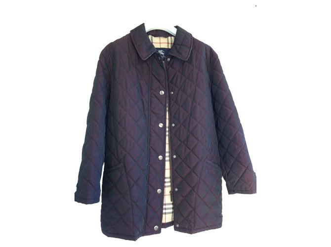 Burberry Jackets Jackets Polyester Purple ref.126211