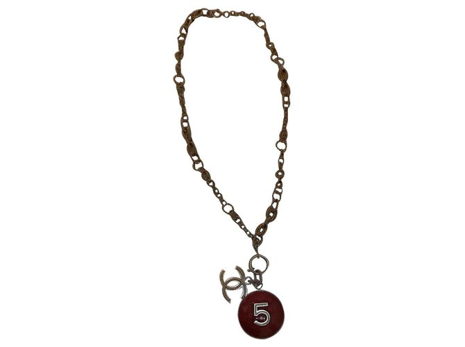 Chanel Long necklaces Long necklaces Metal Golden ref.126361