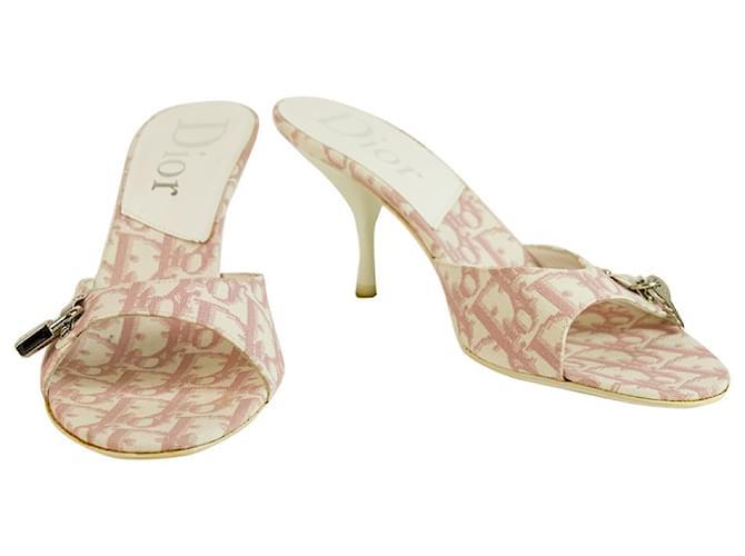 dior heels pink