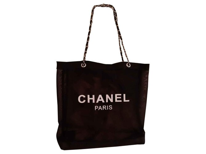 Chanel Handbags Handbags Acetate Black ref.126634