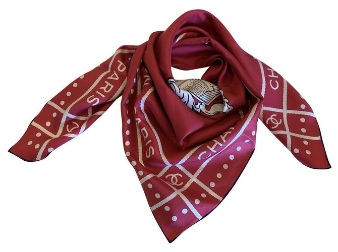 Chanel Chanel scarf Scarves Silk Other ref.126640