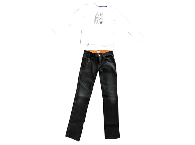 Armani Outfit Outfits Cotton Multiple colors ref.126766