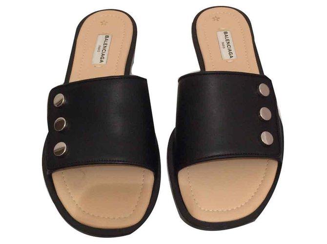 Balenciaga Sandals Sandals Leather