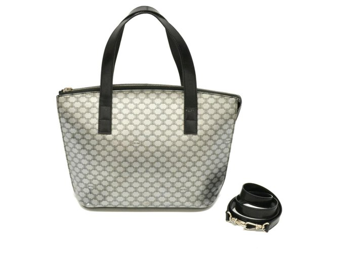 Céline Céline Vintage Shoulder Bag Handbags Cloth Black ref.127601