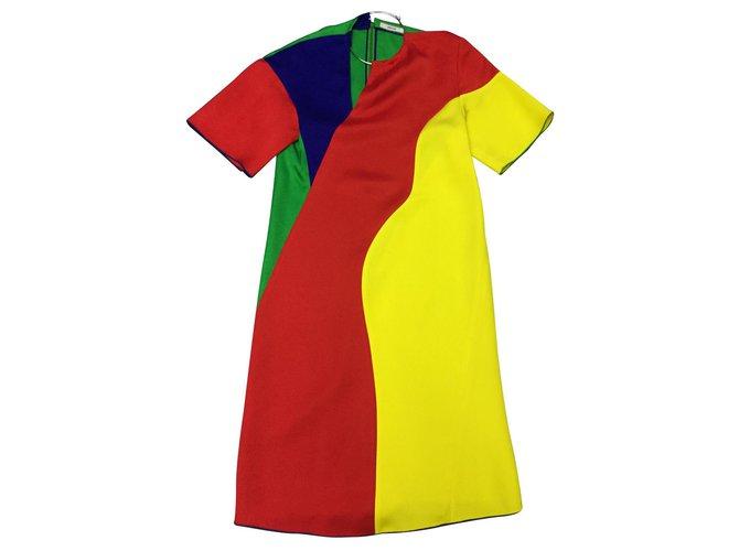 Céline Celine dress Dresses Viscose Multiple colors ref.128003