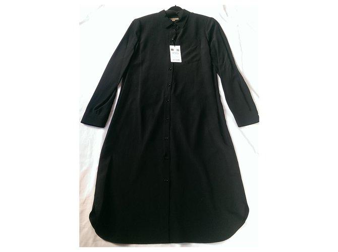 Burberry Dresses Dresses Silk Black ref.129225