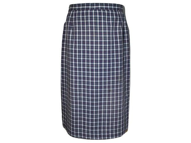 Burberry Burberry tartan cotton skirt Skirts Cotton Multiple colors ref.129537