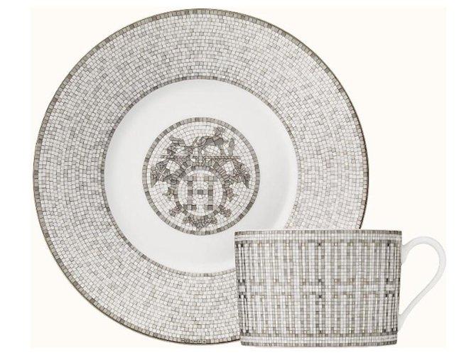 Hermès Misc Misc Other White,Grey ref.129594