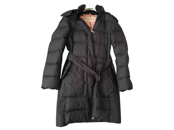 Burberry Coats, Outerwear Coats, Outerwear Polyester Black ref.129815