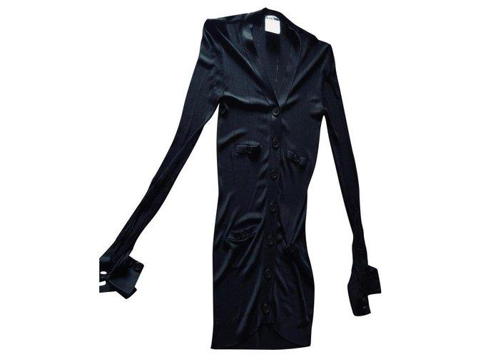 Chanel Jackets Jackets Viscose Black ref.130862