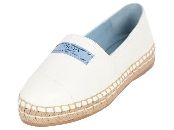 Prada Canvas and leather shoe