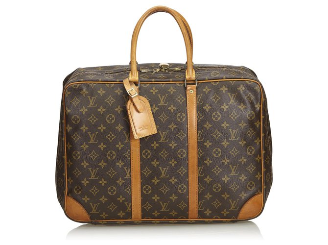 Louis Vuitton Louis Vuitton Brown Monogram Sirius 45 Misc Leather,Cloth Brown,Light brown ref.131379