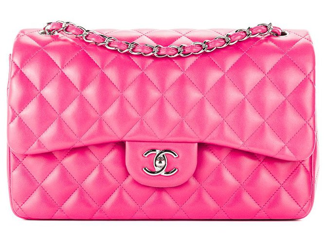Sacs à main Chanel Sacs à main Cuir Rose ref.132174