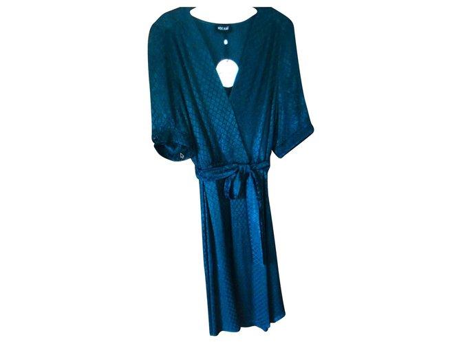 Kookai Kooka T Dress40 Dresses Viscose Dark Green Ref 132325 Joli Closet