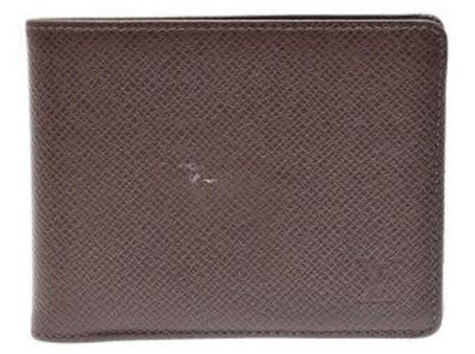 Louis Vuitton Louis Vuitton Bifold Bill Wallet Wallets Small accessories Other Brown ref.132647