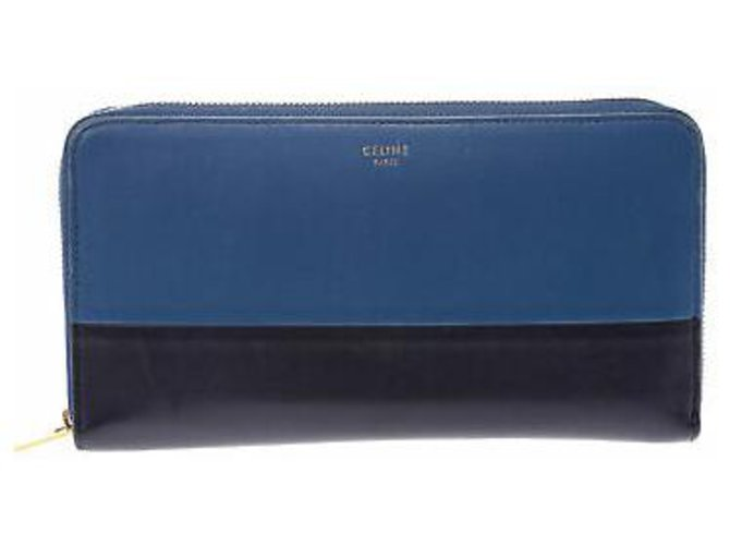 Céline Céline Round Fastener Wallet Purses, wallets, cases Leather Other ref.133115