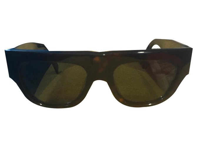 Céline Sunglasses Sunglasses Plastic Brown ref.133523