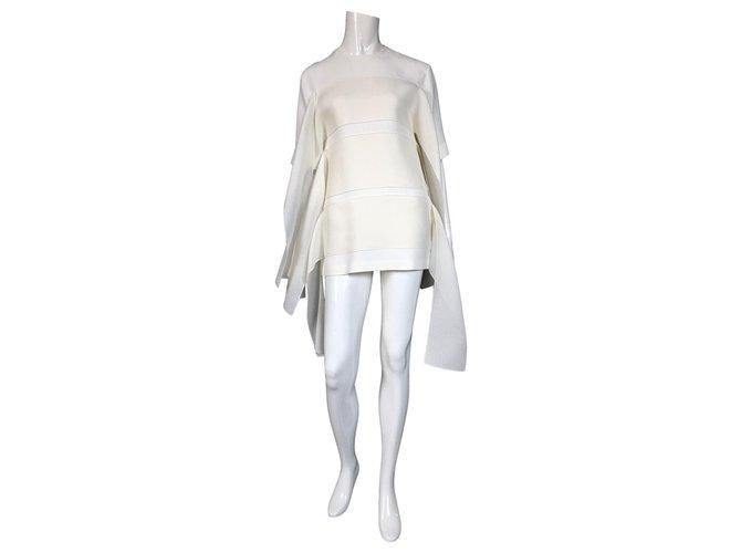 Céline Dresses Dresses Silk Eggshell ref.133639