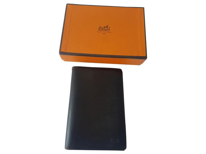 Hermès Wallets Small accessories Wallets Small accessories Leather Black ref.134058